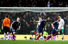This fine Shaun Maloney finish gave Scotland all three points against Ireland