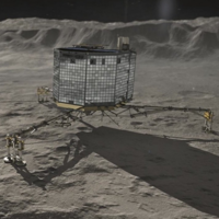 Philae probe has fallen asleep after its batteries ran out