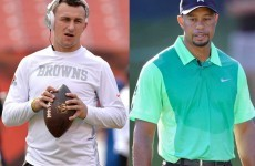 Tiger Woods Once Snubbed A 9-Year Old Johnny Manziel