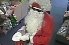 Santa robbed a post office in Australia