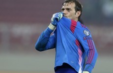 Roy Carroll kept a clean sheet for Notts County today after playing for Northern Ireland in Bucharest last night