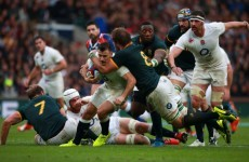 Willie le Roux conjured a bit of magic to create this gorgeous try at Twickenham