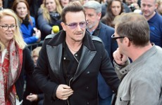 Bono hits out at world leaders on Ebola, as stars arrive for latest 'Band Aid' session