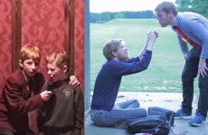 Gleeson brothers star in adorable video, complete with old footage as kids