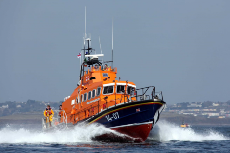 The Courtmacsherry RNLI All Weather Lifeboat.
