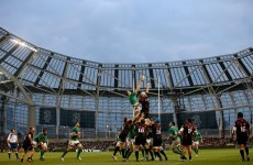 In pics: Ireland score six second-half tries to thump Georgia