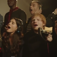 Here's the new Band Aid 30 video that premiered on X Factor