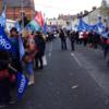 Nurses travel to Blackrock to protest against €150 registration fee