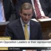 "Taoiseach talks up tax cuts, calls water protesters ""baying mob"""