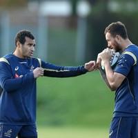 The boys are back: Genia and Cooper ready to resume 'seamless' partnership vs Ireland