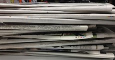 Which Irish paper has just been named European Newspaper of the Year?