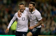 McGoldrick and Pilkington combine brilliantly for Ireland's first goal of the evening