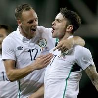 Ireland's Robbie Brady did his best Beckham impression to score a brilliant goal tonight