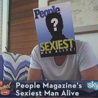 And this year's sexiest man alive is...