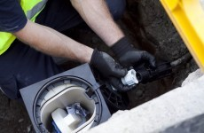 Meter installer 'kneed in face' at protest