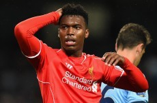Sturridge suffers new setback after picking up thigh strain in training