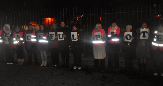 Why last night's Garda Station vigil was so startling ... and why we can expect more like it