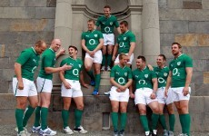 Room service: Irish rugby stars run riot in posh hotel for advert