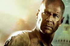 Irish viewers tuning in for Die Hard 4.0 got a nasty surprise last night