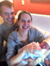 Woman stranded in snowstorm gives birth in fire station