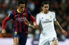Alexis v Di Maria: Two stars shining in different galaxies