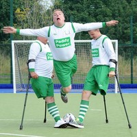 Roy Keane gives Irish amputee footballers rousing speech ahead of World Cup campaign