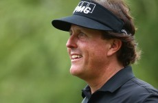 Phil Mickelson is losing a lot of weight by working out at 5:30am and cutting carbs, dairy, and sugar