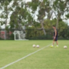 Robbie Keane's training involves kicking balls at his son in a moving vehicle