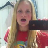 Snarky teenager responds to her dad's sarcastic 'instructional videos'