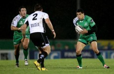Debutant Muliaina not on the score-sheet, but Connacht put 43 points on Zebre