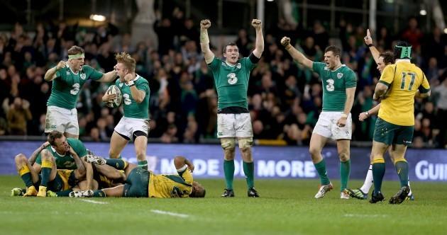 15 of the best pics from Ireland's cracker against Australia