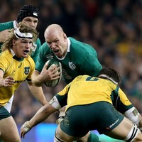 Schmidt's Ireland are a big threat going into the World Cup - Cheika