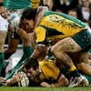 Should Bernard Foley's try for Australia against Ireland have been allowed?