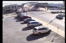 Woman crashes stolen car, accidentally demolishes building