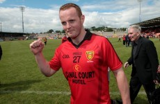 We'll be seeing less great inter-county goals as Down's Benny Coulter retires