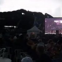 Watch: Stages collapses at Ottawa Bluesfest injuring eight people