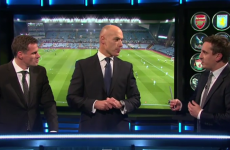 Neville and Carragher discuss football's need for a 'buttometer' with Howard Webb