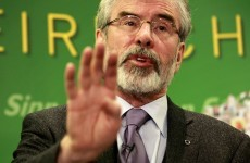 Gerry Adams says sorry for calling some unionists 'b******s'