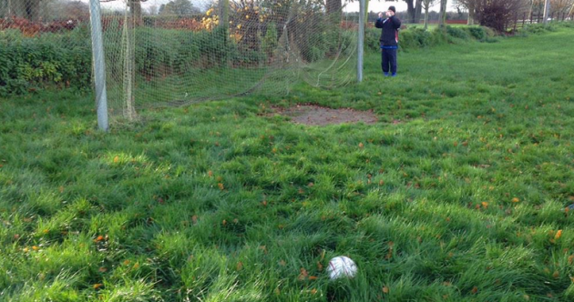 Look how bad this pitch was that caused Tipperary GAA relegation game to be postponed