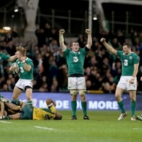 Championship glory, tears and a November clean sweep: Ireland's rugby season in pictures