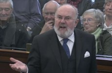 WATCH: David Norris condemns 'knickers shops and ignorant buildings' in Dublin city