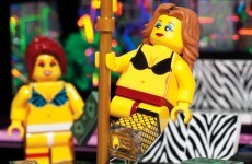 Someone has made a Lego strip club set and it's a certified childhood ruiner