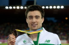 European bronze medalist Mark English named as Irish Athlete of the Year