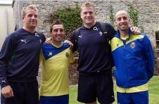 In pictures: when Villarreal CF met Ireland's rugby stars