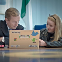 This 10-year-old has been teaching Enda a thing or two...