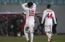 Roma unaroused by players' strip club visit
