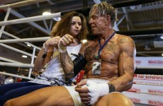 Hey Mickey you're so fine... 62-year old actor wins first boxing match in 20 years
