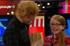 Here's that heart-melting Ed Sheeran Toy Show moment in full