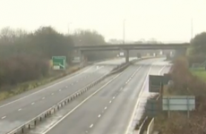 Motorway closed after explosion heard close to UK military base