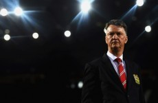 How does Louis van Gaal prepare for Manchester United matches?